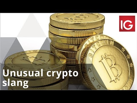 Unusual cryptocurrency terminology