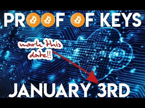 ☠️ Did Cryptocurrency Exchanges Kill the Bitcoin Marketcap in 2018? ₿ January 3rd Proof of Keys 🔑