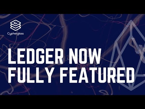 EOS Ledger Update: Chintai & multi-action dapps now supported!