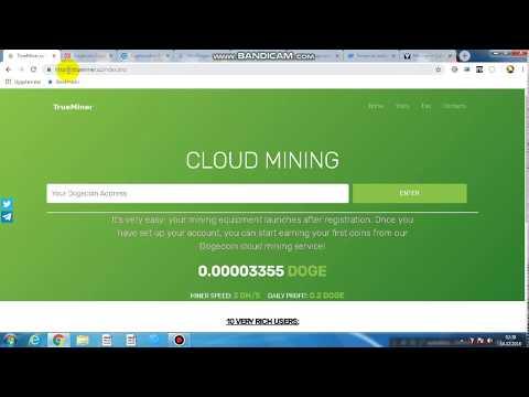 TrueMiner ve Dogecoin Cloud Mınıng tanıtımı ve 5 sitenin ödeme kanıtı ! ! !