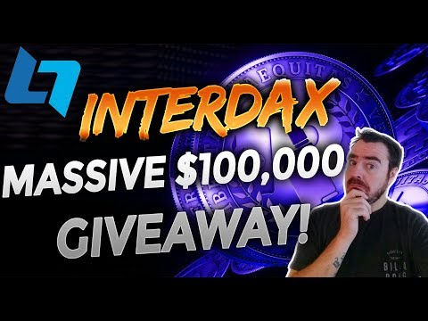 InterDax – The Next Generation CryptoCurrency Trading Platform + $100K in BTC Giveaway