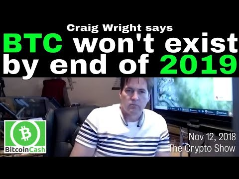 Craig Wright says there is an exploit which will take down Bitcoin (BTC) by end of 2019.