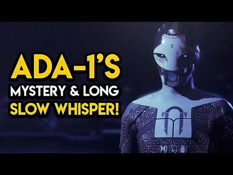 Destiny 2 – ADA-1'S CREATION! Long Slow Whisper, Project Niobe, MORE!