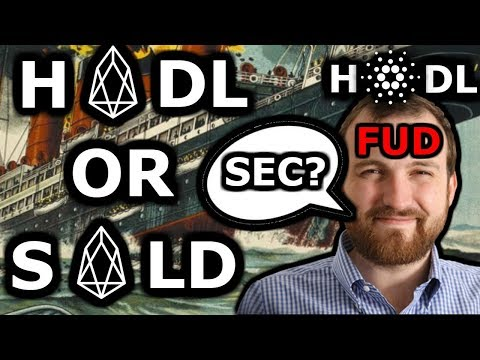"Is EOS Doomed to Fail? Cardano ""SEC vs EOS"" Fud? Sink or Swim Eos!!"