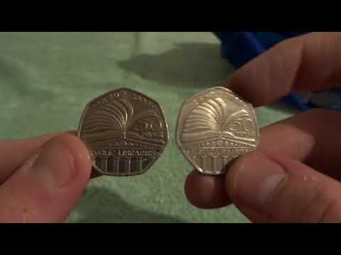 50p Coin Hunt: OMG I Found My 1st Kew Gardens?? – £100 In 50p Coins – UK Coin Hunter