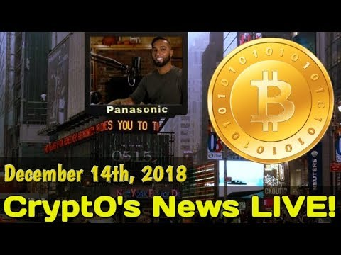 Cryptocurrency News LIVE! (December 14th, 2018) – Bitcoin, Ethereum, Stocks, Blockchain, & More!