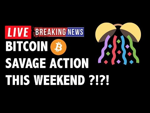 🎊 SAVAGE WEEKEND Action for Bitcoin (BTC)?! – Crypto Market Trading Analysis & Cryptocurrency News