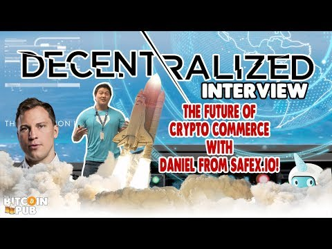 The Story of SAFEX.io [Daniel Dabek] – The Future of Crypto Commerce! – The Entrepreneur's View!