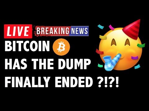 🎉 Has The Bitcoin (BTC) DUMP Finally ENDED?! – Crypto Market Trading Analysis & Cryptocurrency News