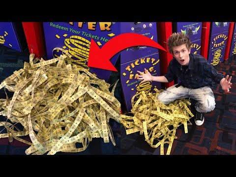 OMG CRAZIEST ARCADE JACKPOT WIN EVER!!!