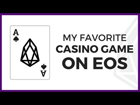 My Favorite Casino Game Is Now On EOS