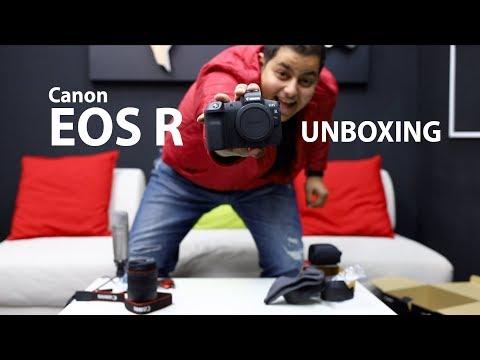 Canon EOS R unboxing بالعربي