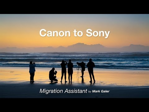 Canon EOS to Sony Alpha Migration Assistant