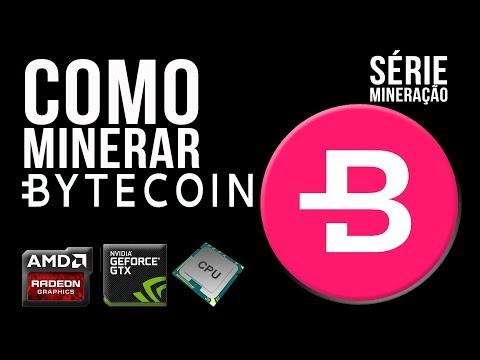 COMO MINERAR | BYTECOIN POR CPU | GPU AMD NVIDIA