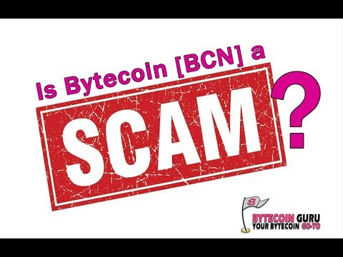 """BytecoinGuru's response to """"Bytecoin is SCAM"""""""