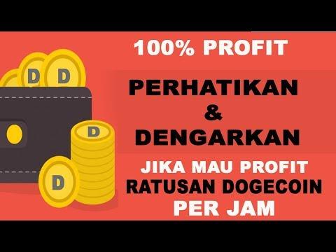 TRIK PROFIT 200 DOGECOIN DALAM 5 MENIT – TONTON SAMPAI HABIS