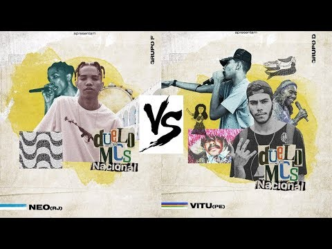 Neo (RJ) vs Vitu (PE) – Duelo de mcs NACIONAL 2018 – 1° FASE Live