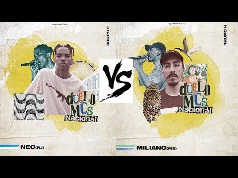 Neo (RJ) vs Miliano (MS) – Duelo de mcs NACIONAL 2018 – QUARTAS DE FINAL Live