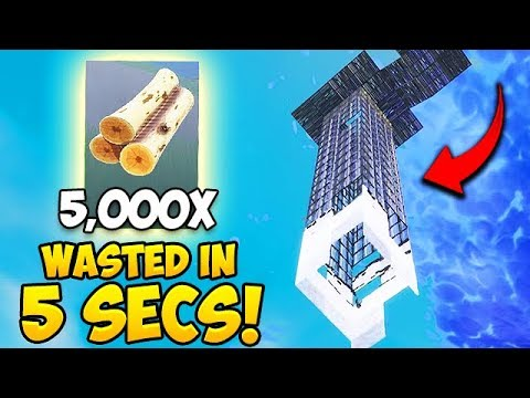 *NEW RECORD* Wasting 5000 Materials in 5 Seconds! – Fortnite Fails and WTF Moments! #413