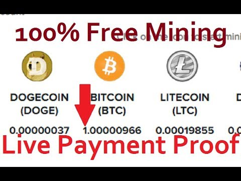 100% Paying Free Bitcoin Cloud Mining Site Daily 5 Dollars Free & Bitcoin