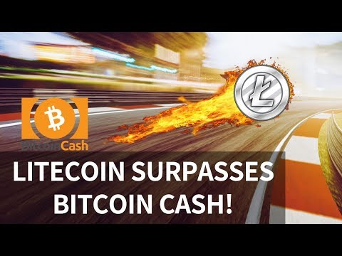 Litecoin surpasses Bitcoin Cash! ETH reaches milestone, BTC one year Flashback – Today's Crypto News