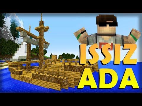 ADAYA DÜŞTÜM?! – Minecraft: ISSIZ ADA #1
