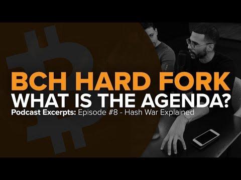 Bitcoin Cash (BCH) Hard Fork (2018): What's the Agenda?