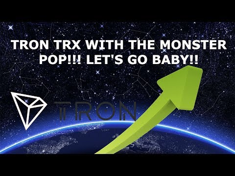 TRON TRX WITH THE MONSTER POP! LETS GO BABY!!