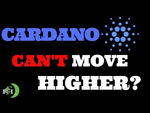 CARDANO (ADA) CAN'T MOVE HIGHER? (THIS IS WHY)