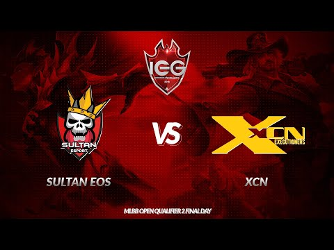 [Live]Sultan EOS vs XCN | IEG 2018 – MLBB | Open Qualifier 2 Final Day