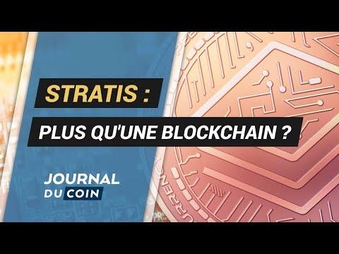 ANALYSE STRATIS : La blockchain pour les entreprises