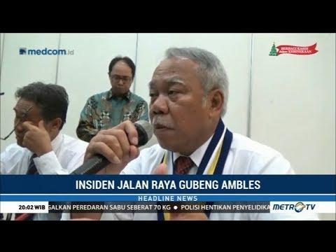 Jalan Gubeng Ambles, Menteri PUPR: Harus Ada yang Bertanggung Jawab