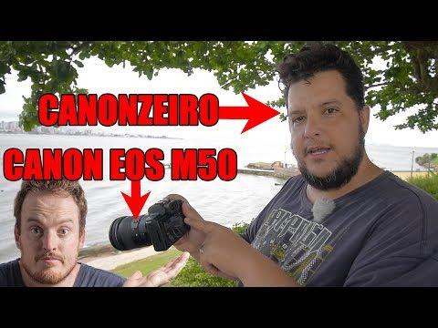 Canon EOS M50 segundo um Canonzeiro (Andrey do Back to Basics)