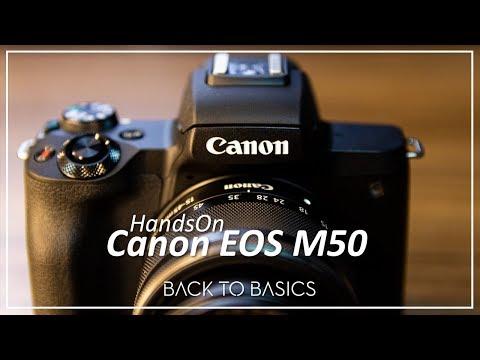 Canon EOS M50, felicidade ou Decepção?