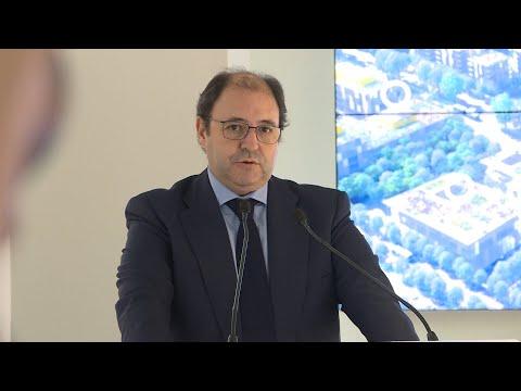Presidente de DCN inaugura la exposición de Madrid Nuevo Norte
