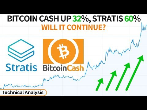 Bitcoin Cash up 32%, Stratis 60% – BCH, STRAT & ETH Technical Analysis