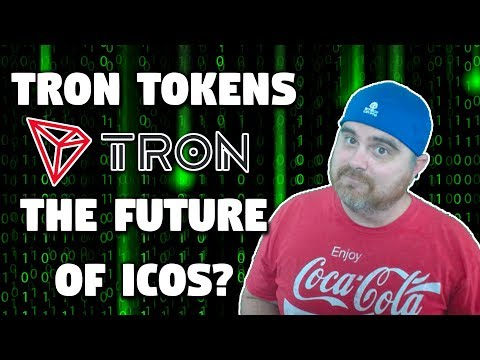 TRON Tokens | TRC10s vs TRC20s | Why Tron Will Capture the ICO Market