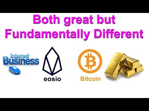 Bitcoin and EOS – The best cryptos? Why you should treat them differently