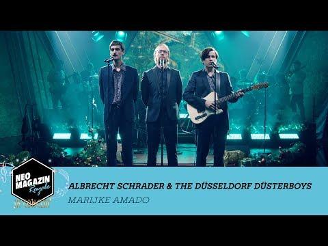 "Albrecht Schrader feat. The Düsseldorf Düsterboys – ""Marijke Amado"" | NEO MAGAZIN ROYALE in Concert"