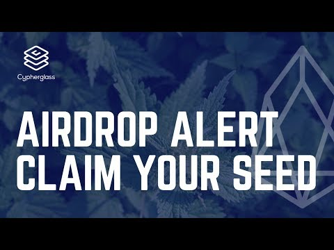 AIRDROP ALERT: Claim your SEED now! (EOS Airdrop)