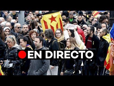 🔴 EN DIRECTO [21-D BCN]: Protestas frente a la reunión entre Quim Torra y Pedro Sánchez en Barcelon