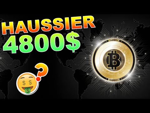 BITCOIN 4800$ HAUSSIER ENFIN !? btc analyse technique crypto monnaie