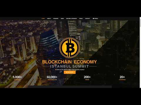 BLOCKCHAIN ECONOMY ISTANBUL SUMMIT CRYPTOCURRENCY EVENT 2019