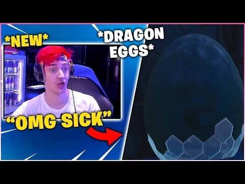 NINJA Reacts to *NEW* DRAGON EGGS FOUND UNDER CASTLE! (BCC TROLLING)