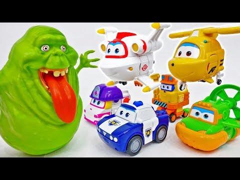 Kim, Neo, Swampy, Astro, Zoey, Scoop~! We Are New Friends Of Super Wings – ToyMart TV