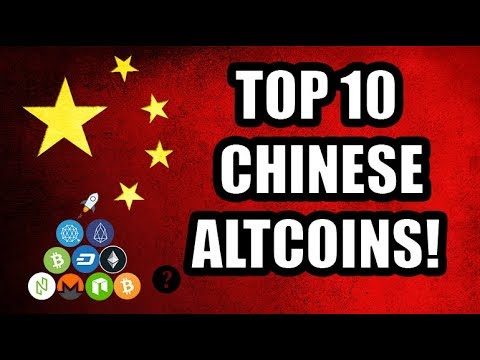 Revealed: Top 10 Chinese Altcoins! [EOS, Ethereum, GXChain Ontology, Waves, Ripple, Bitcoin]