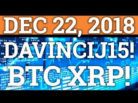DAVINCIJ15 SHOWS HIS PORTFOLIO! BITCOIN BTC, RIPPLE XRP, CRYPTOCURRENCY PRICE + NEWS + TRADING 2018