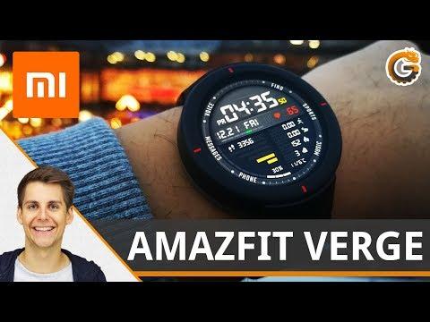 Huami AMAZFIT VERGE von Xiaomi: Smartwatch mit NFC – Erster Eindruck / DEUTSCH