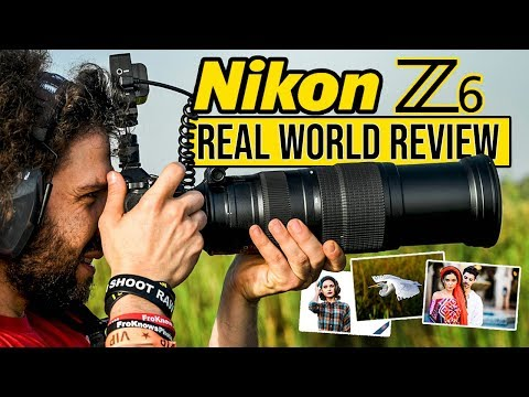Nikon Z6 Real World Review (vs Sony a7 III vs Canon EOS R, should they be Worried?)