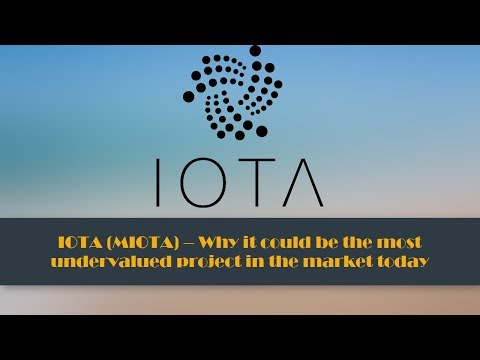 IOTA (MIOTA) – Why it could be the most undervalued project in the market today